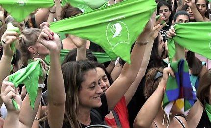 In Argentina si vota progetto di legge per legalizzare l'aborto