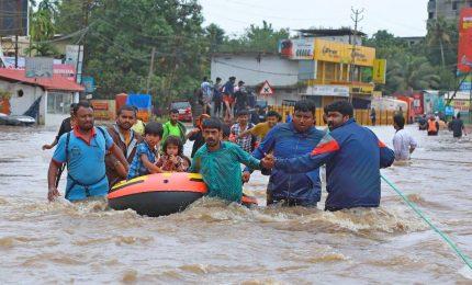 Oltre un milione di sfollati per le inondazioni nel Kerela, più di 400 morti