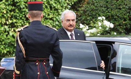 Italia non ha convinto Haftar a venire a Palermo