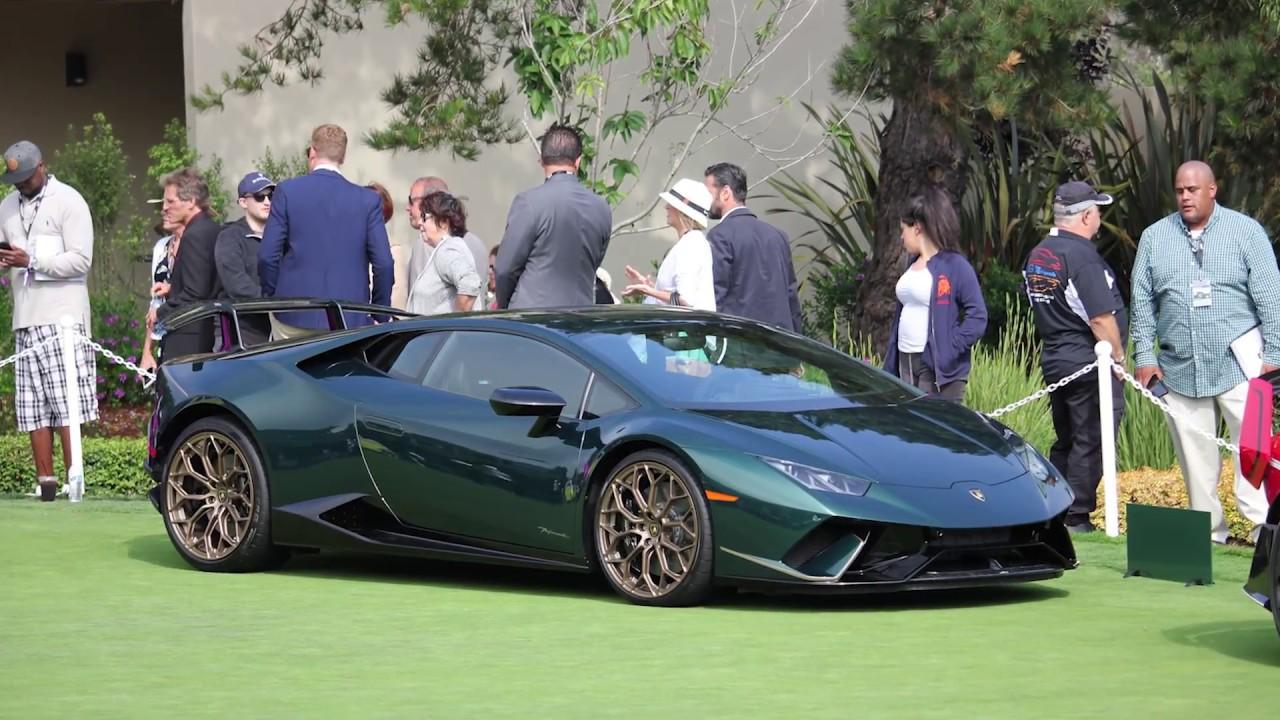 Il Made in Italy si festeggia a Casa Lamborghini a Pebble Beach