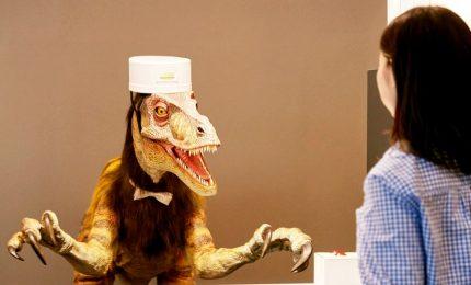 L'hotel in Giappone gestito dai robot dinosauri