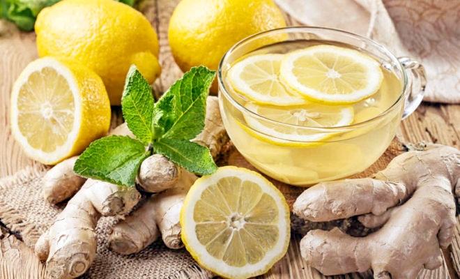perdere peso acqua e limone