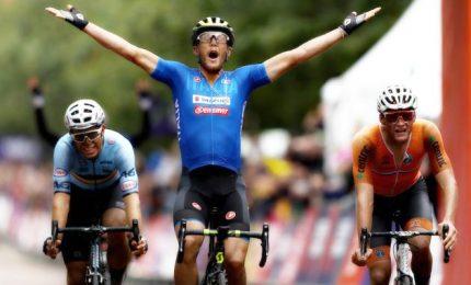 Fantastica Italia, Matteo Trentin vince la prova in linea