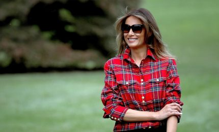 Melania Trump rilancia la campagna Be Best: attenti ai social