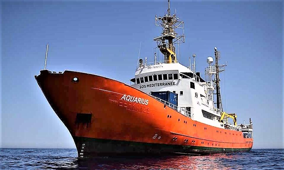 """Nave Aquarius diretta verso Marsiglia. Sos Me'diterrane'e: Salvini dice """"bugie"""""""