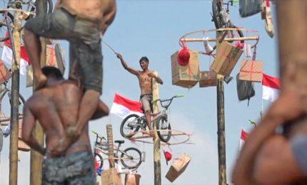 Resistenza e sudore, la gara sui pali ai Giochi Asiatici 2018
