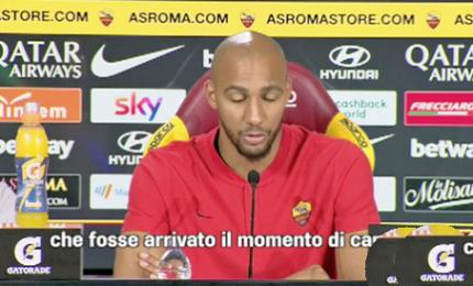 """La Roma presenta Nzonzi: """"Sono già al lavoro"""""""