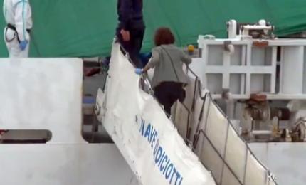 Migranti, anche la Boldrini a bordo della nave Diciotti