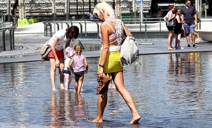 Ondata di caldo soffoca l'Europa, 2 morti in Spagna