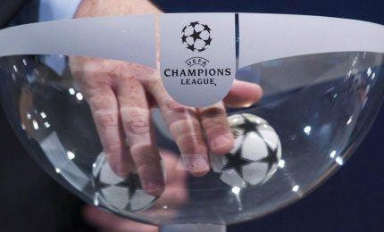 Sorteggi Champions, Inter e Napoli duri. Meglio Juve, Roma e Inter