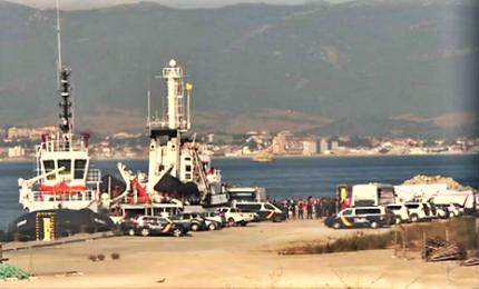 Open Arms arriva ad Algesiras, sbarcati 87 migranti