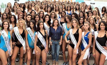 Francesco Facchinetti-Diletta Leotta i conduttori di Miss Italia