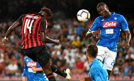 """Napoli-MIlan 3-2, Ancelotti: serata fantastica. Gattuso: """"Spariti"""""""