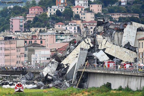 Crollo ponte: a Benevento si valuta chiusura opera Morandi