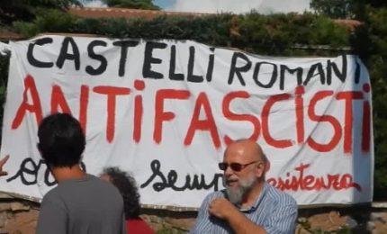 Migranti, tensione a Rocca di Papa tra antifascisti e CasaPound