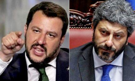 Salvini non molla su Nave Diciotti, scontro con Fico. E Conte attacca Ue