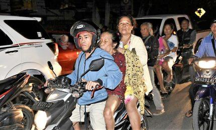 Nuova scossa di terremoto nell'isola di Lombok. Ma non è scattata allerta tsunami
