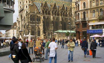 Vienna è la città più vivibile del mondo, Milano e Roma peggiorano