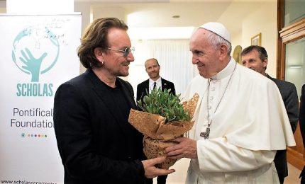 Bono dal Papa: parlato di abusi, ho visto il suo dolore