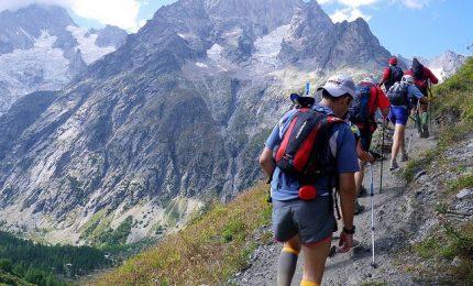 Una settimana di corsa sul Monte Bianco: 170 km, 2.300 corridori
