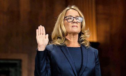 Christine Ford al Senato: così Brett Kavanugh cercò di stuprarmi