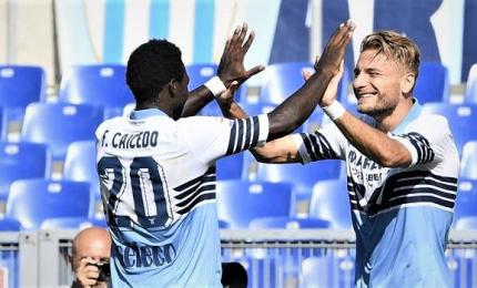 La Lazio va, Immobile-Caicedo affondano Genoa