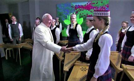 Il Papa in Lettonia, seconda tappa del viaggio nei paesi Baltici
