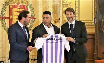 Il brasiliano Ronaldo acquista il 51% del Real Valladolid