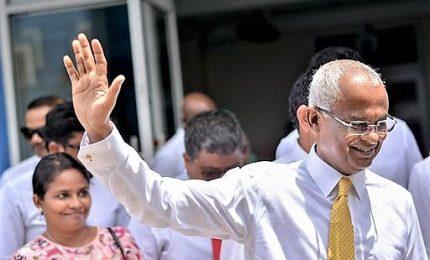 Maldive, leader opposizione Solih vince le presidenziali