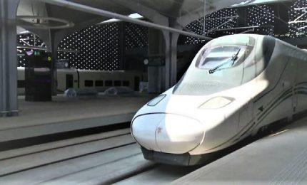 Re Salman inaugura il treno ad alta velocità