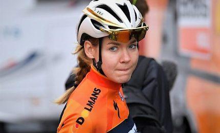 "Van der Breggen d'oro, Guderzo di bronzo a 5`26"""