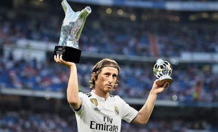 Modric vince premio FIFA per miglior giocatore dell'anno