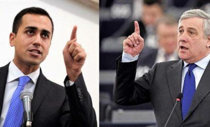 Di Maio contro l'Europa su copyright, Tajani: Conte prenda le distanze
