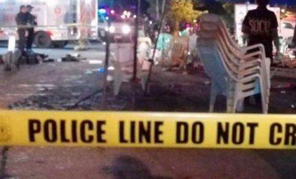 Esplode una bomba nelle Filippine, un morto e 15 feriti