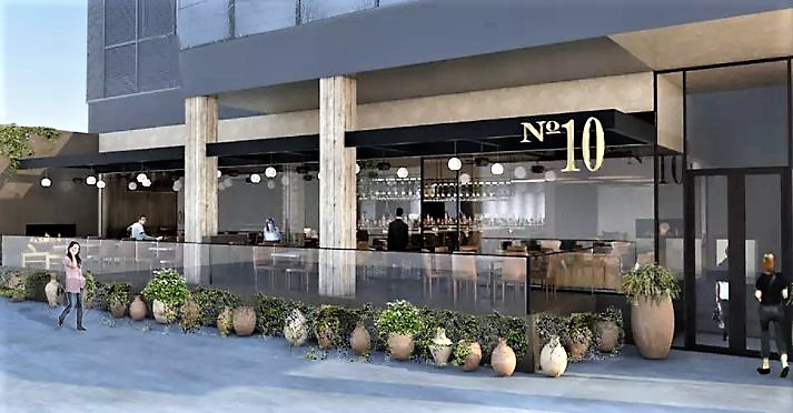 "A Los Angeles Del Piero presenta il suo ristorante ""Number 10"""
