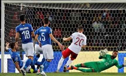 """Italia-Polonia 1-1, applausi per Mancini. """"Ripartiamo dal secondo tempo"""""""
