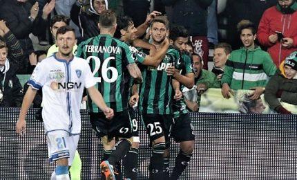 Serie A, Sassuolo-Empoli 3-1 nell'anticipo