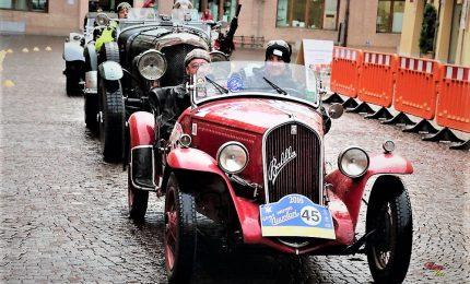 Da Mantova a Mantova in auto d'epoca: il 28esimo GP Nuvolari