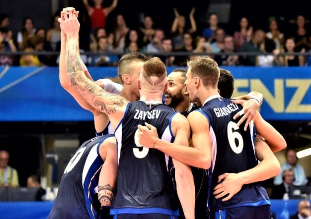 Mondiali di pallavolo, Italia-Slovenia 3-1