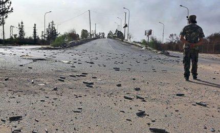 Libia, 1.677 famiglie sfollate dall'inizio scontri a Tripoli