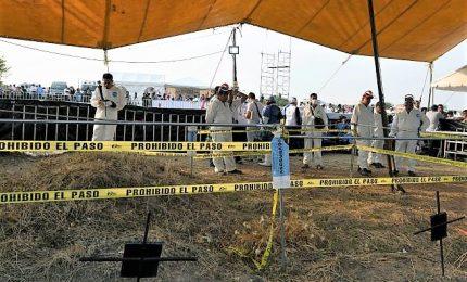 Messico, trovata fossa comune con resti di 166 persone. Si ritiene che i corpi siano stati sepolti almeno due anni fa