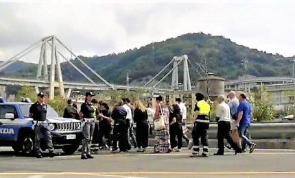 Crollo Ponte Morandi, Genova in silenzio per ricordo delle 43 vittime