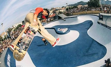 Skateboard, il brasiliano Barros vince il Red Bull Bowl Rippers