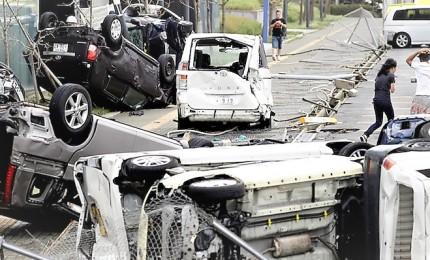 Il tifone Jebi colpisce il Giappone, almeno 9 morti e ingenti danni