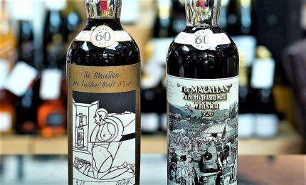 All'asta a Edimburgo la bottiglia di whisky più cara al mondo