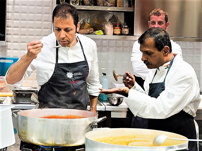 """Lo Chef del Quirinale: """"Mattarella francescano: zuppa di ceci"""""""
