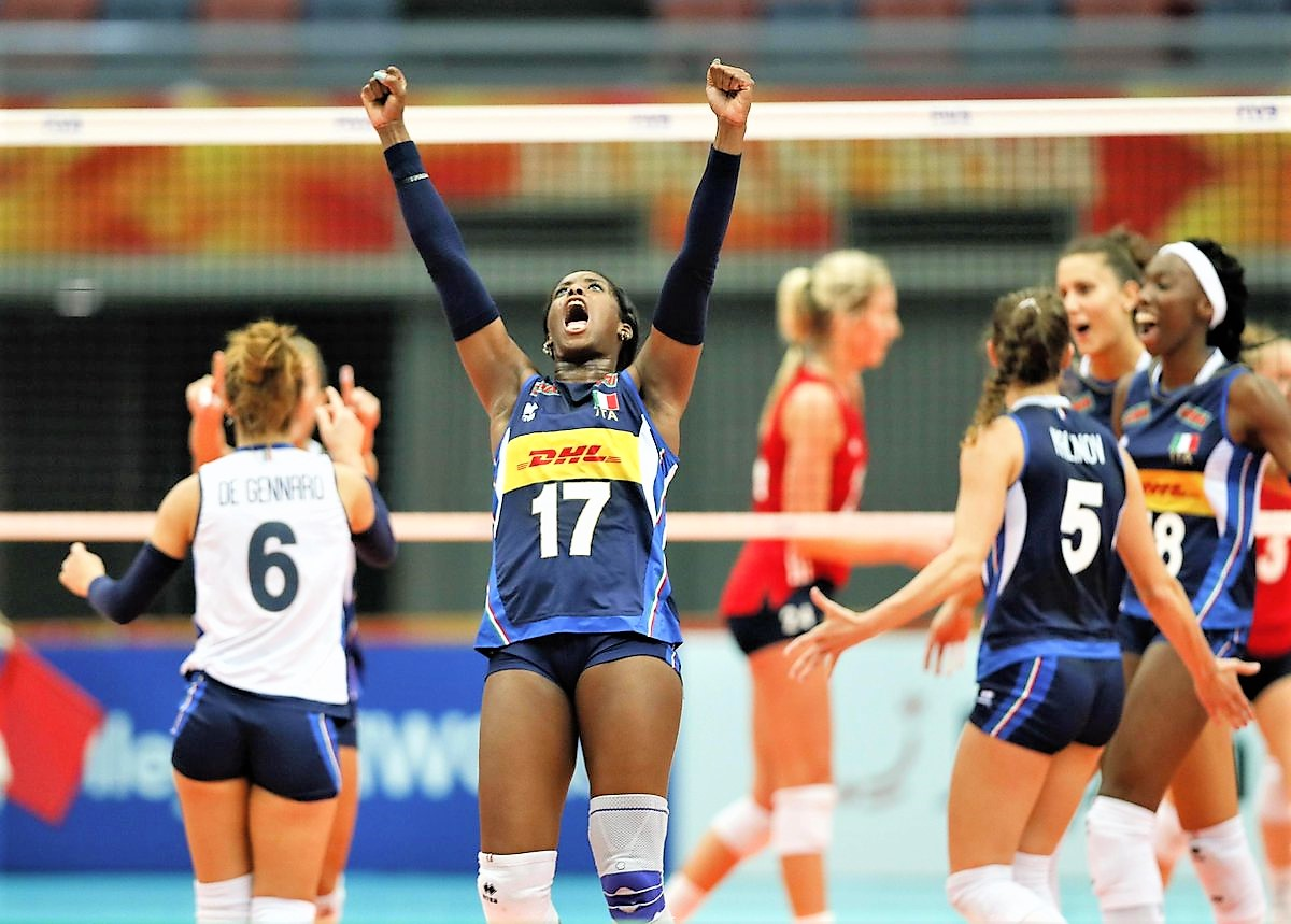 Italia-Giappone 3-2, azzurre in semifinale