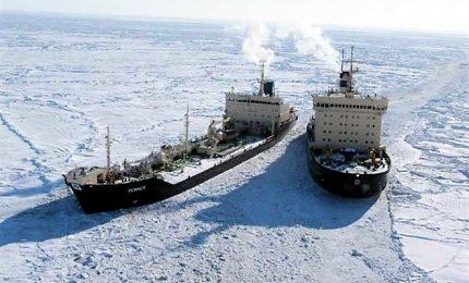 Scioglimento dei ghiacciai nell'Artico apre passaggio a navi