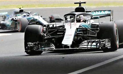 Vince Hamilton: il titolo è vicino. Vettel parte bene ma chiude sesto