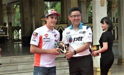 Marc Marquez arriva in Thailandia per il primo MotoGp del Paese
